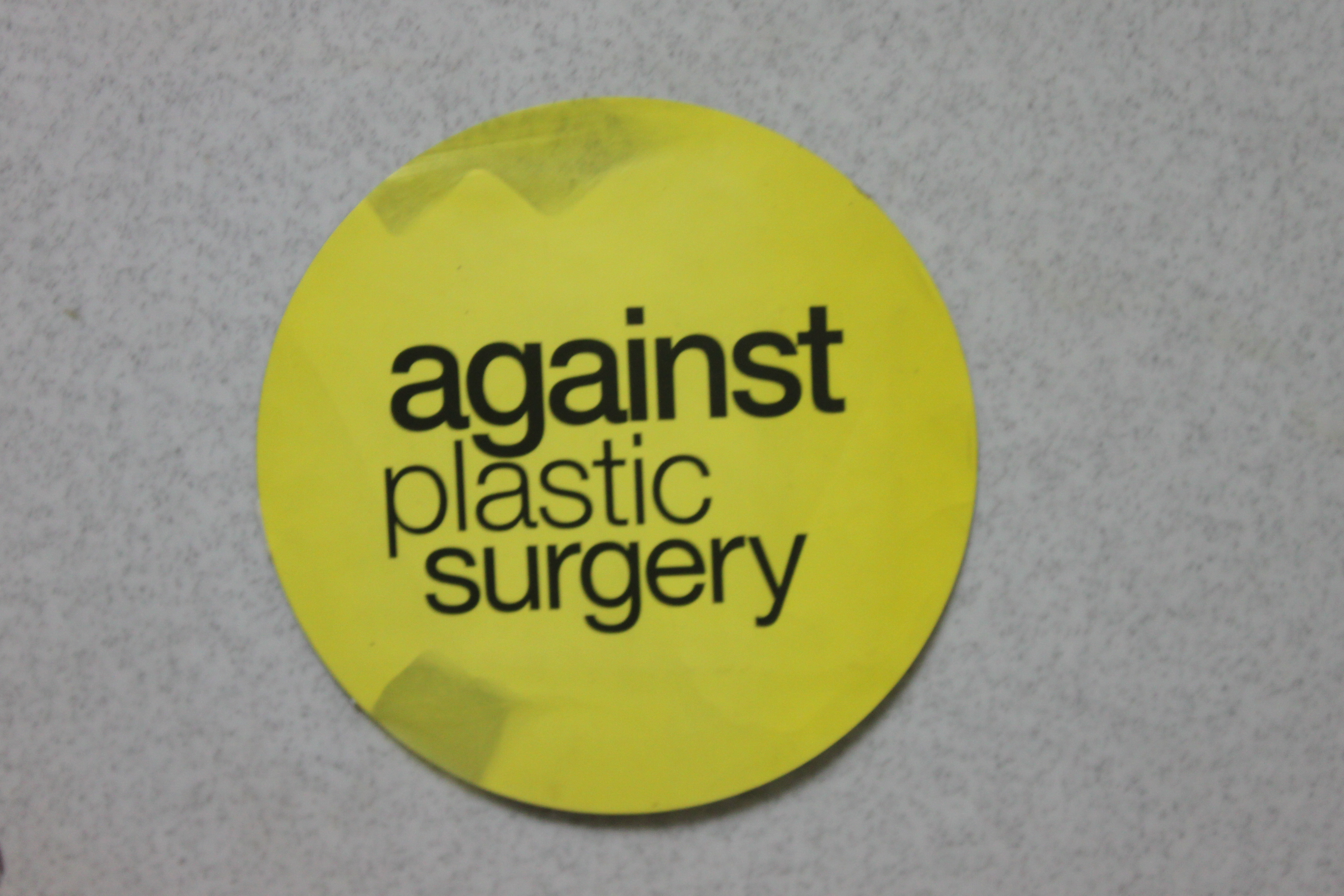 thesis against plastic surgery Im very interested in the topic of plastic surgery and how it's changing nor am i particularly against it should i thesis paper on plastic surgery.
