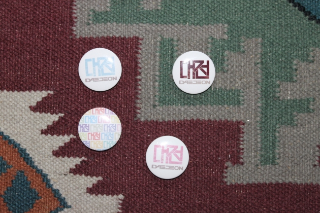 daejeon buttons