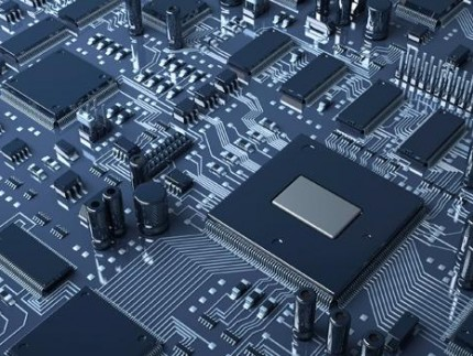 The landscape of a semiconductor chip in all its glory.