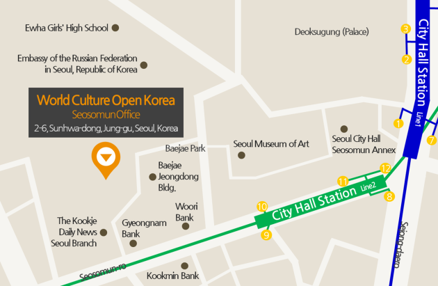 World Culture  Open Studio near City Hall