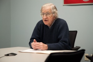 Professor Noam Chomsky in online seminar with Asia Institute in Korea.