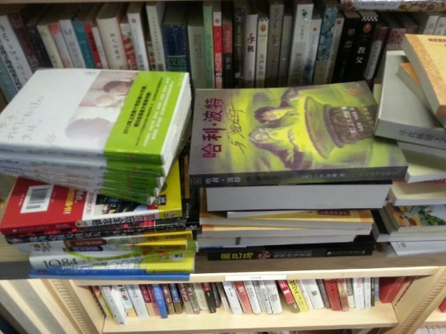 The Chinese books are translations of Western and Japanese books or bland how-to books by unknown authors.