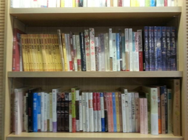 The Chinese book section at Kyobo Books is only about four shelves and contains not a single significant Chinese book.