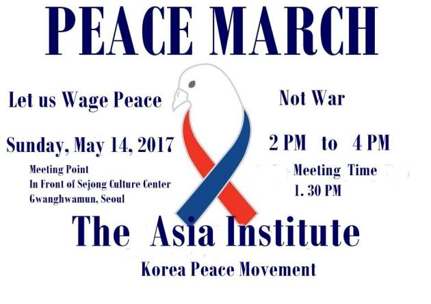 MAY 14 PEACE MARCH