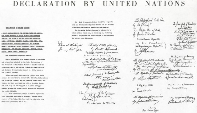An Affirmation Of The United Nations Charter In A Time Of Peril