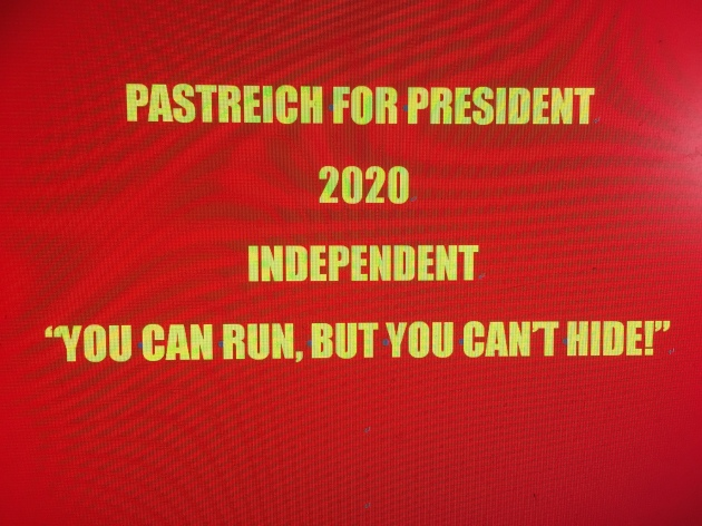 PASTREICH FOR PRES